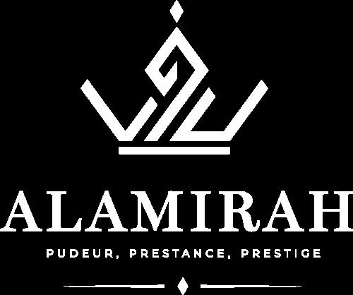 Logo Al Amirah Blanc